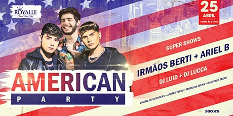 Bailinho de Carnavrau + American party @Royalle SP ingressos