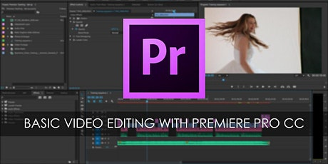 ADOBE PREMIERE - BASICS OF VIDEO EDITING tickets
