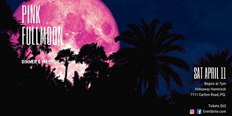 Pink Full Moon Dinner & Hayride tickets