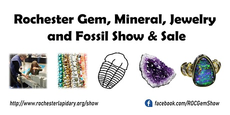 2020 Rochester Gem, Mineral, Jewelry & Fossil Show and Sale tickets