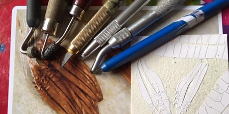 Printmaking- Collagraph and Mixed Media Print (4 week course) tickets