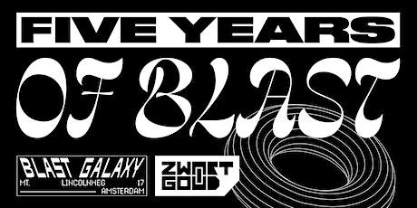 ZWART GOUD 5 YEARS OF BLAST tickets