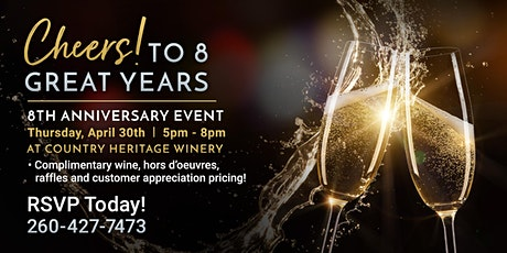 Aspire Plastic Surgery's 8th Anniversary Celebration! tickets