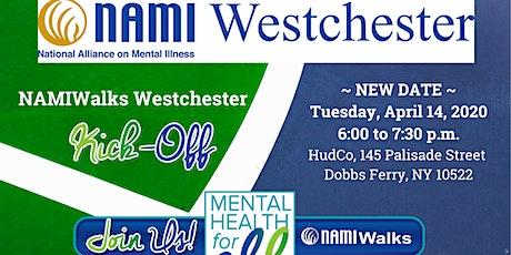 NAMIWalks Westchester Kick-off Event - NEW DATE tickets
