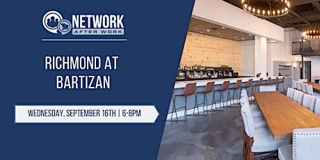 Network After Work Richmond at Bartizan tickets