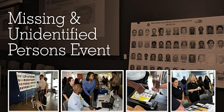Missing and Unidentified Persons Event tickets