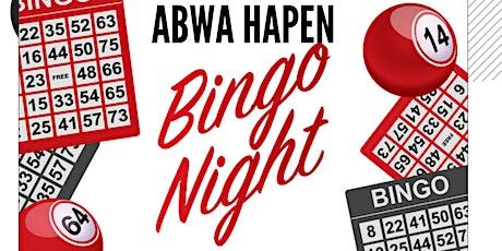 HAPEN Bingo Night tickets