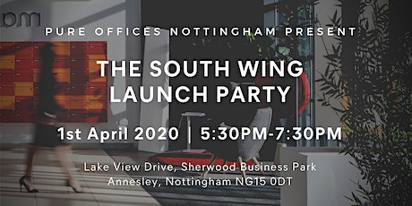 Pure Offices Nottingham - South Wing Launch Party tickets