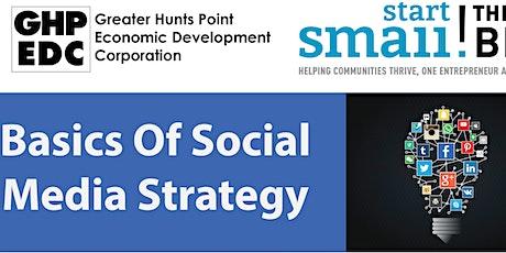 Basics Of Social Media Strategy Webinar tickets