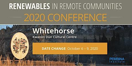 Renewables in Remote Communities 2020 tickets