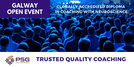 FREE -  Accredited Practitioner Diploma in Coaching with Neuroscience - Open Event - GALWAY tickets