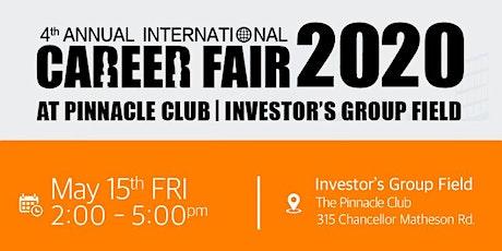 Fourth Annual International Career Fair tickets