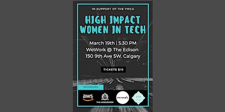High Impact Women in Tech tickets