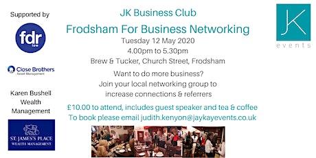 JK Business Club Frodsham For Business tickets