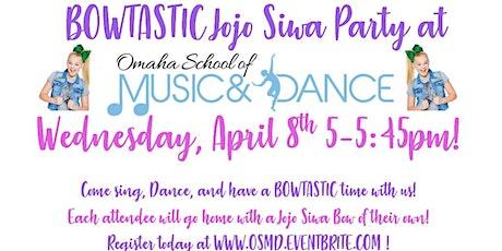 Bowtastic JoJo Siwa Dance Party! tickets