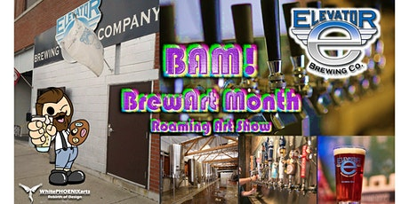 BAM! Art Party at Elevator Brewing Co. tickets