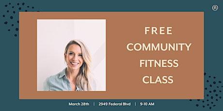 Nurture Presents: Fitness Class with Jourdan Baldwin tickets