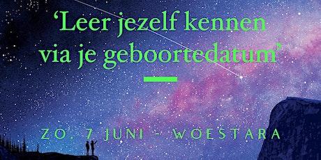 Workshop 'Leer jezelf kennen vanuit je geboortedatum' billets