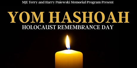 Yom Hashoah/Holocaust Remembrance Day for Young Jewish Professionals 20s+30s tickets
