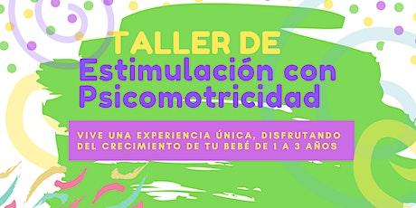 TALLER DE ESTIMULACIÓN  TEMPRANA CON PSICOMOTRICIDAD boletos