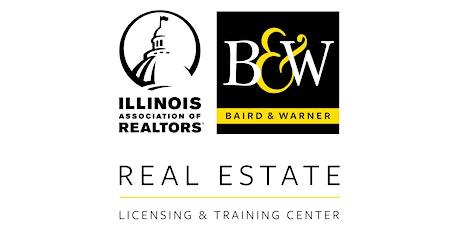 Illinois REALTORS® 75 Hour Pre-License Accelerated Course tickets