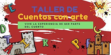 TALLER DE CUENTOS CON ARTE boletos