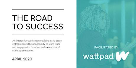 Road to Success Workshop - Wattpad tickets