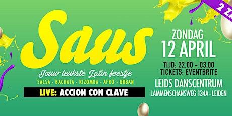 SAUS - 1ste Paasdag tickets