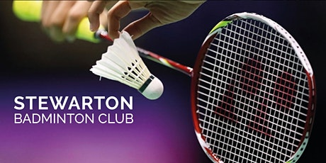 Stewarton Badminton Club tickets
