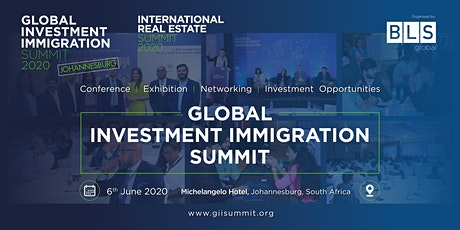 Global Investment Immigration Summit - Johannesburg tickets