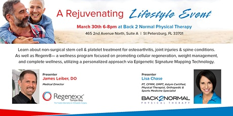 Rejuvenating Lifestyle Event tickets
