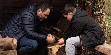 Finnebrogue Woods School of Bushcraft- Fathers day Bushcraft tickets