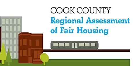 Cook County Assessment of Fair Housing: Housing Choice Voucher Convening tickets