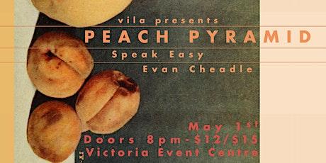 Peach Pyramid, Evan Cheadle, Speak Easy tickets