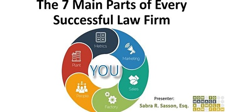 The 7 Main Parts of Every Successful Law Firm tickets