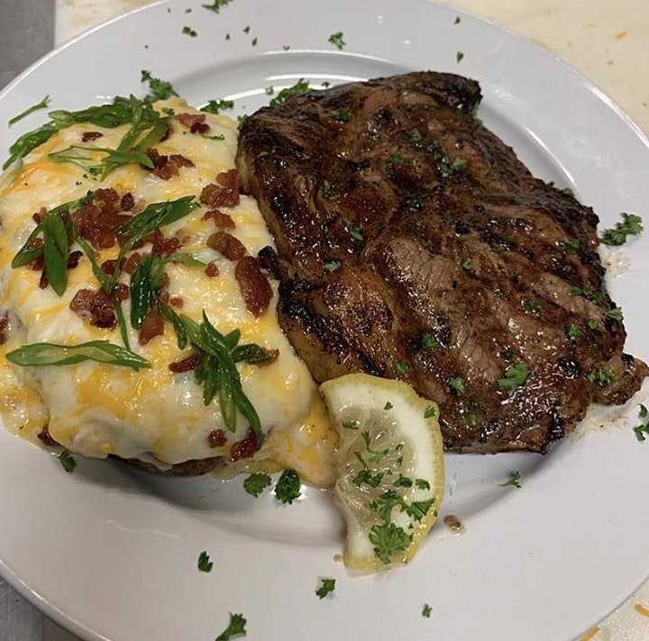 New Orleans French Quarters Steak Night and Karaoke image