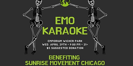 Emo Karaoke Benefit For Sunrise Movement Chicago tickets