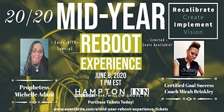 Mid-Year Reboot Experience tickets