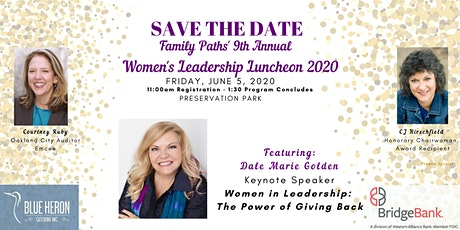 POSTPONED: Family Paths' Women's Leadership Luncheon  2020 tickets