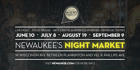 NEWaukee Night Market tickets