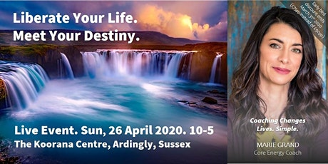 Liberate your Life and Meet your Destiny tickets