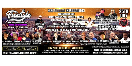Freesyle Music Radio 3rd Annual Celebration tickets