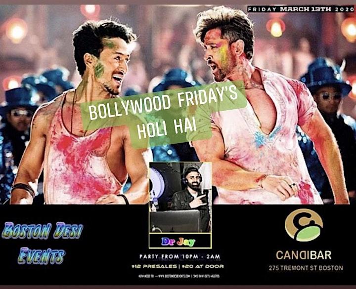 Bollywood Friday's at Candibar - Holi Hai image