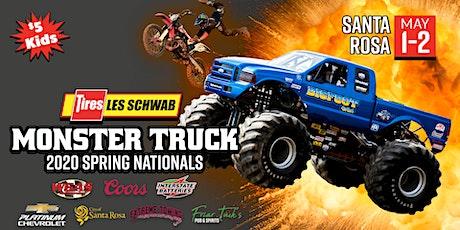 2020 LES SCHWAB TIRES Monster Truck Spring Nationals (Friday Night) tickets