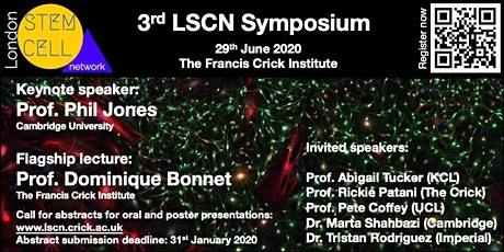 3rd Annual London Stem Cell Network Symposium tickets