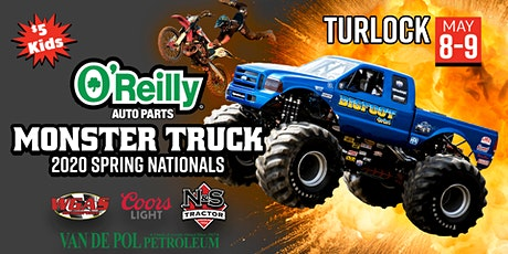 2020 O'REILLY AUTO PARTS Monster Truck Spring Nationals (Saturday Night) tickets
