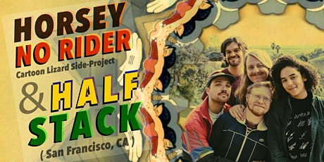 Vinyl Envy 5 Year Anniversary: Horsey No Rider / Half Stack (San Francisco) tickets