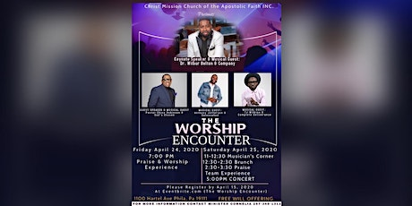The Worship Encounter tickets