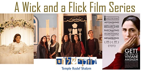 A Wick and a Flick Film Series: The Gett tickets