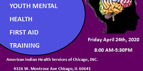 Youth Mental Heath First Aid Training tickets